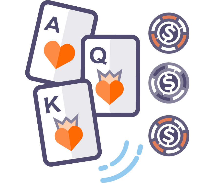 Los 13 mejores casino de Póker de tres cartas online