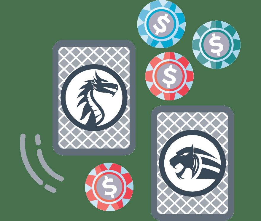 Los 5 mejores casino de Dragón Tigre online